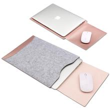 Waterproof Bag 11.6 12 13.3 15.4 inch for Macbook Air/Pro Retina Sleeve Case with Flip Mouse Pad Laptop Case