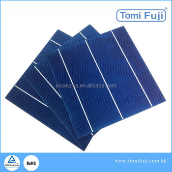 cheap wholesale price 156x156 3 bus bars high efficiency pv solar cell stock