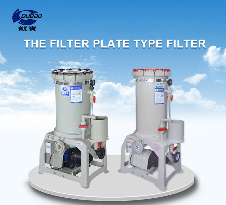 PP filter industrial filter housing used in PCB industry