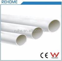 ASTM D1785 SCH40 Plastic Water Tube PVC Pipe Construction Material