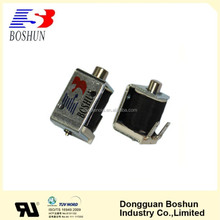 Low price solenoid lock and coil, miniature electromagnet for locking system BS-0624-01