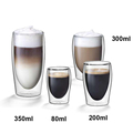 Borosilicate Coffee Mugs In Different Size/Coffee Cup Manufacturers