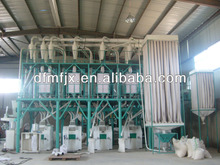 Wheat/maize/rice /chili flour milling machine 60tpd multi-storey structure