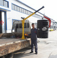 China factory mobile truck crane for dubai market