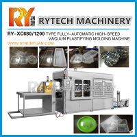 Plastic Egg Tray Making Machine Vacuum Thermoforming Machine