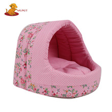 High Quality Durable Using Various Cheap Pink Dog Kennel Double Pet Bed