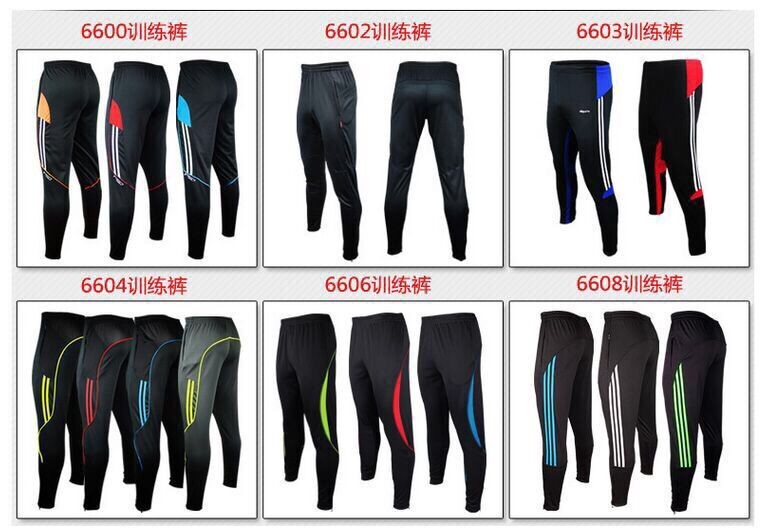 2016 new cheap sports polyester mens track pants custom soccer training pants