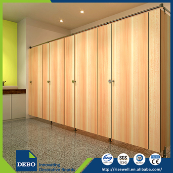 Luxury Grace commercial toilet partition system