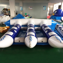 water sports super durable banana boat inflatable flying fish towable tube/ fly fish ride ,