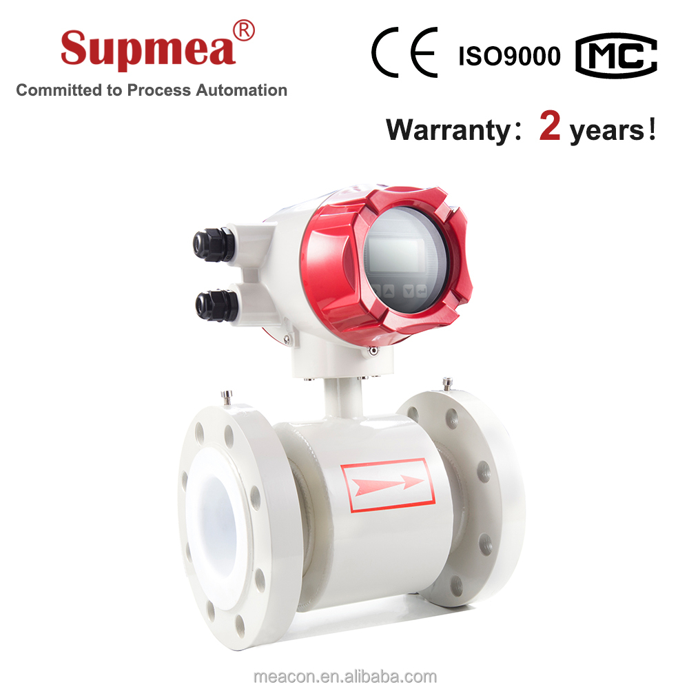High pressure small water flow meter for water line