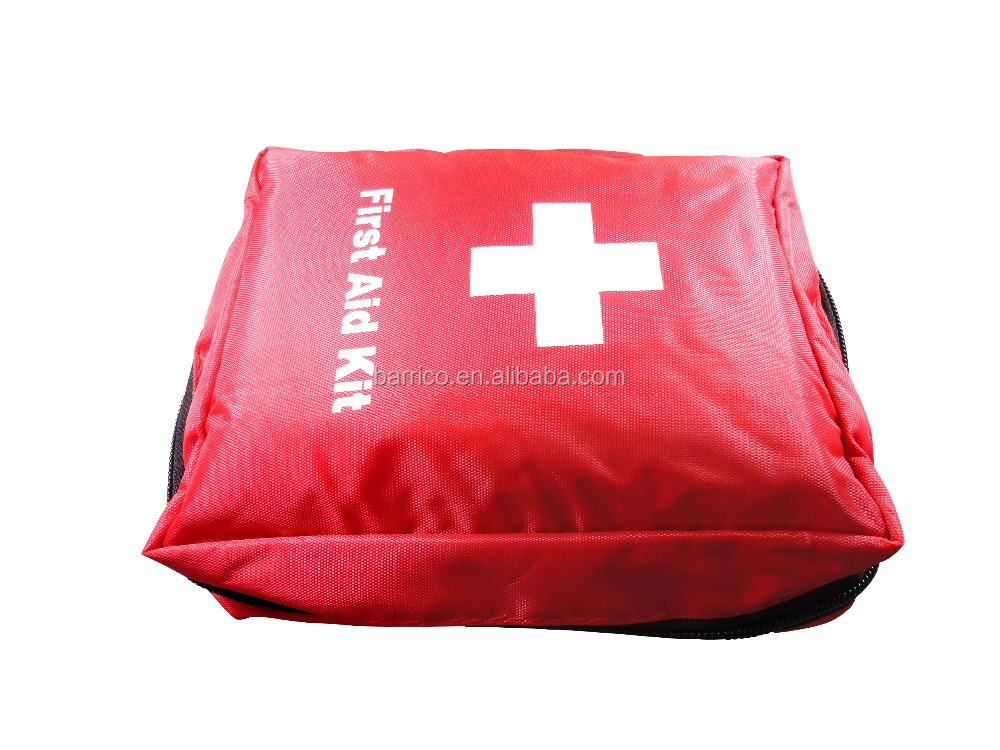 Car emergency first aid kit/ waterproof nylon first aid bag/ wholesale mini first aid kit with FDA/CE