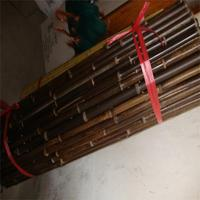 WY-188 Natural agriculture black bamboo poles in raw materials