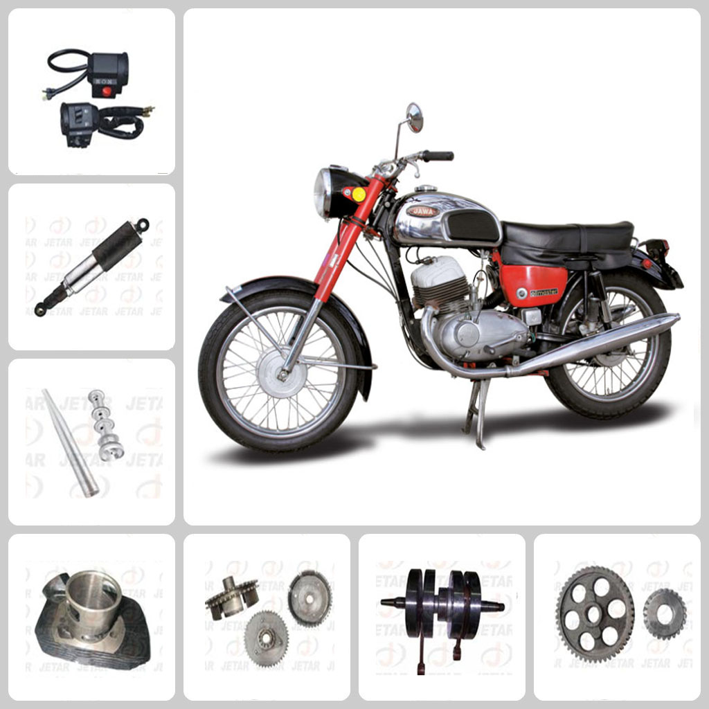 HOT SALE !! Motorcycle engine body parts for jawa