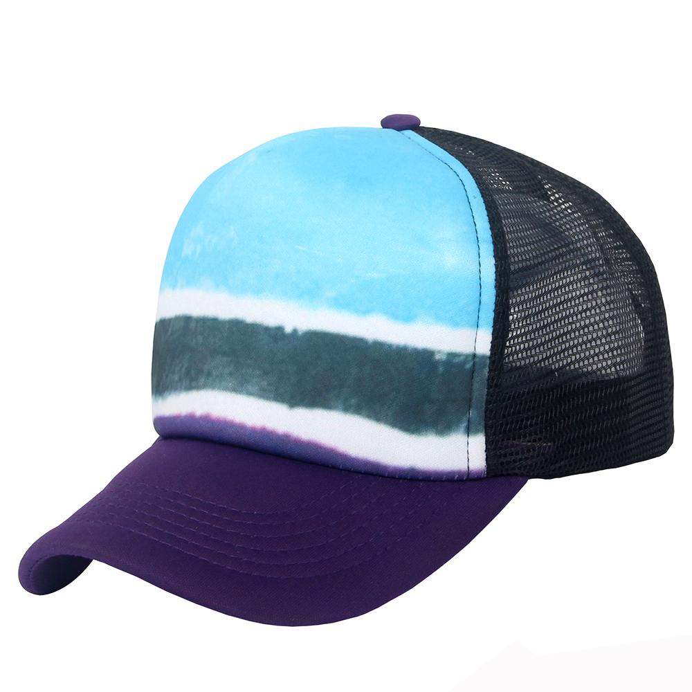 2018 Personalized Sublimation Trucker Mesh Baseball Cap for wholesale