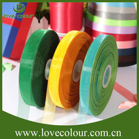 New custom wholesale cheap transparent ribbon / organza ribbons for dress