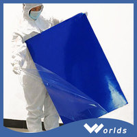 Good price low density polyethylene esd cleanroom blue sticky mat with high quality