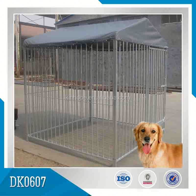 Solid Roof Dog Kennels