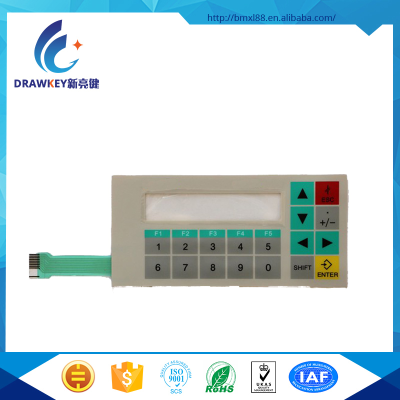 customized high quality membrane keypad for b r and simatic and ab allen-bradley