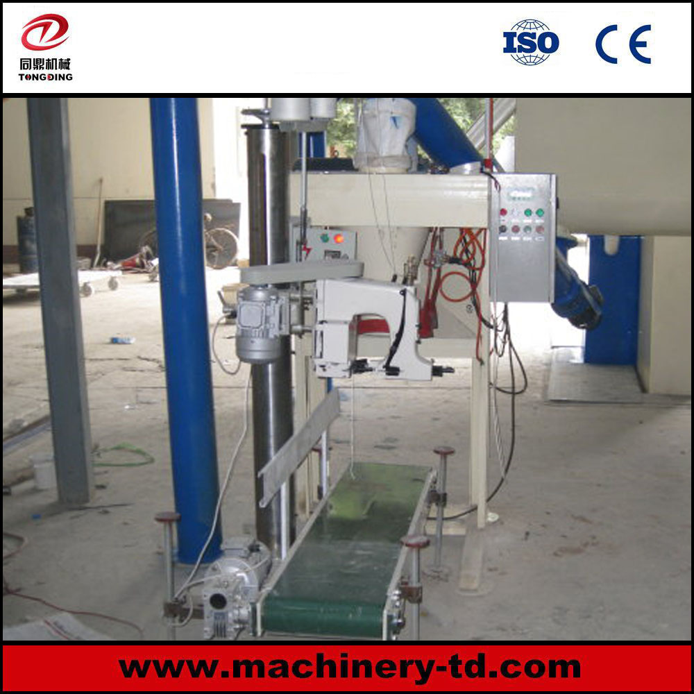 L5 High Accuracy Open Top Bag Filling Machine with Sewing Machine and Belt Conveyor