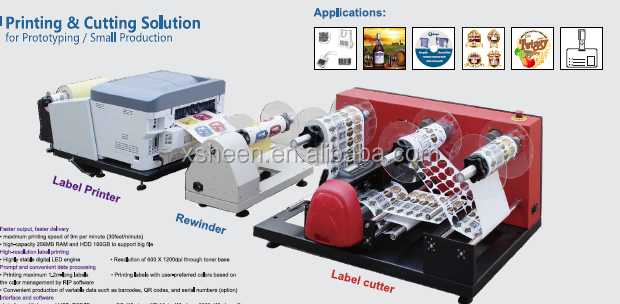 Contact Supplier Shanghai high quality beer bottle label stickers printing machine