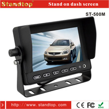 "5"" mini led car lcd monitor mini tv 12 volt"