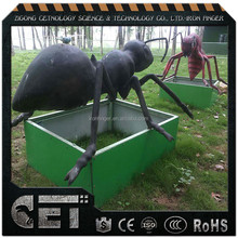Cetnology- lively insects replica artificial animatronic big bugs model for sale