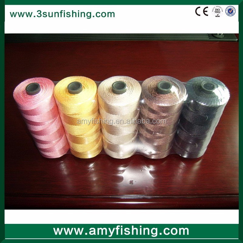 210d multifilament polyester nylon PP HDPE fishing twine line braided line