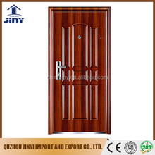 2017new residential exterior single leaf The best selling steel door and frames