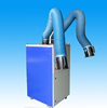 Fume extraction equipment with 2 suction hoses and filters