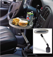 Car Rotating Tray Smart Auto organizer Auto Food Tray