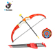 Outdoor children toy plastic bow and arrow set