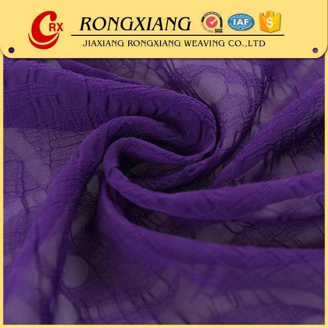 10 years experience Popular Design composition of chiffon