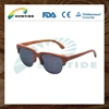 China Wholesale dropshipping wooden sunglasses