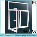 Open Flexible AluminumTilt & Turn Thickness Of Sliding Window Glass