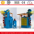 High Efficiency Double Hangers Type Wheel Blasting Machine/Shot Peening Machine Price