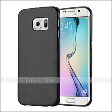 Jelly Glossy Silicon Soft Tpu Phone Case Back Cover For Samsung Galaxy S6 Edge