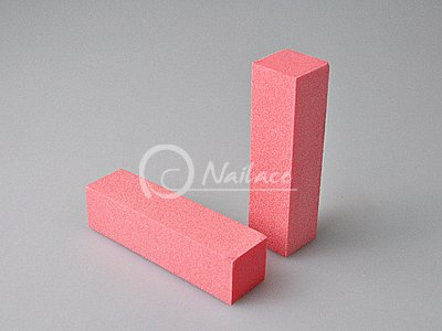 High-quality and cheap Nail File - Sanding Block (Pink)