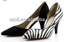 Fashion office mid-heel shoes pointed toe women high heels 2014