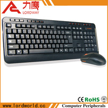 Brand new high quality computer accessories ultra-thin 2.4g wireless keyboard and mouse combo