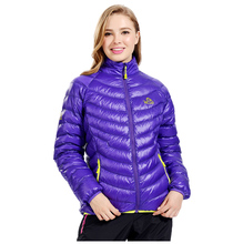 Wholesale Women Winter Clothing Snowboard Outdoor Jacket White Duck Down Jacket