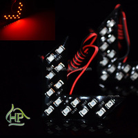 Hot sales 12V red color car led light for car side mirror