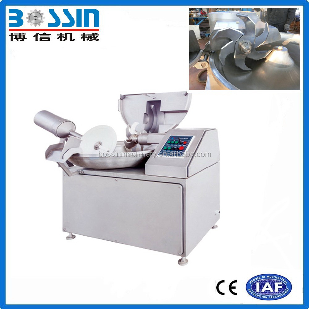 High efficient large scale dc motor meat chopper