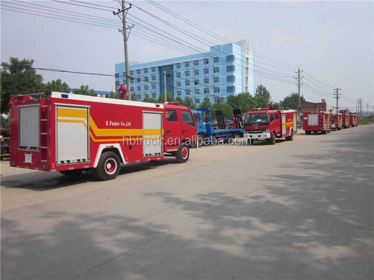 DongFeng small fire fighting truck with 3tons water tank