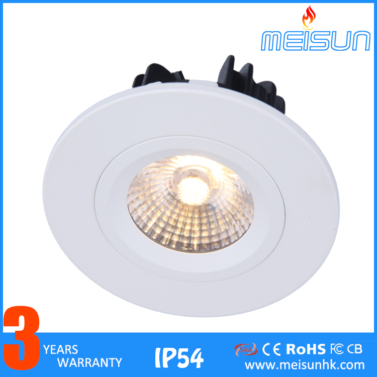 Die-casting Aluminum 3w 5w 7w 10w Low Power 220v New Cob Led Downlight