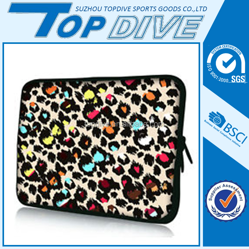 Customized color oem insulated laptop sleeve neoprene