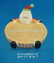 Christmas santa claus cookie holder