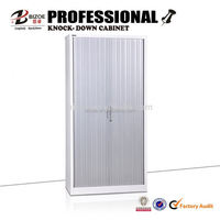 roller shutter door office steel storage cabinet