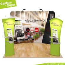 New style aluminum full color advertising economical trade show booth activities