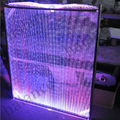 fiber optic waterfall curtain for window, showcase, Door(FWF-01)