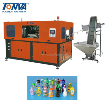 Automatic 2 cavities PET blow molding machine price